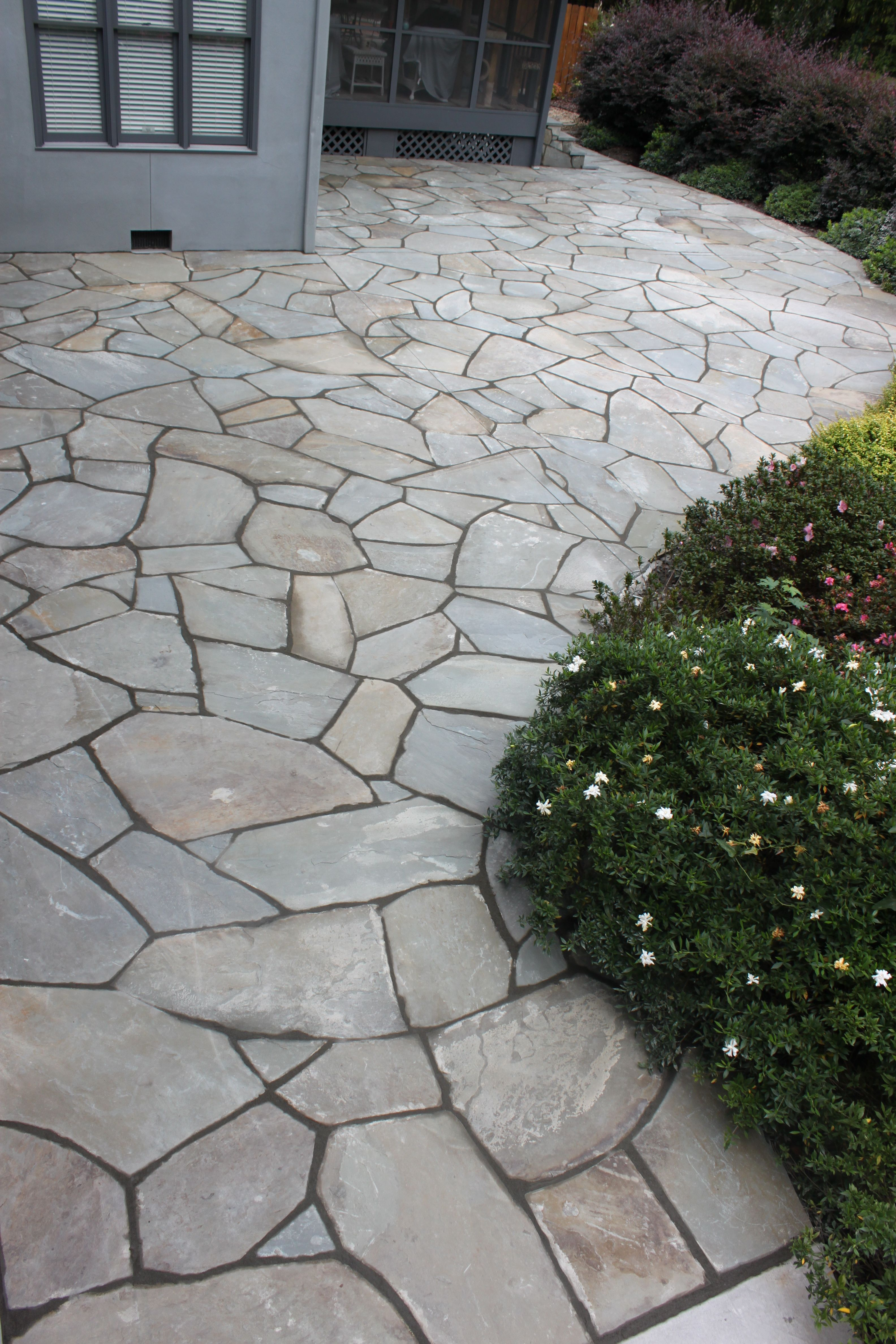 I Would Like To Cover The Ugly Concrete Patio With Stone Or Tile For The Home Pinterest