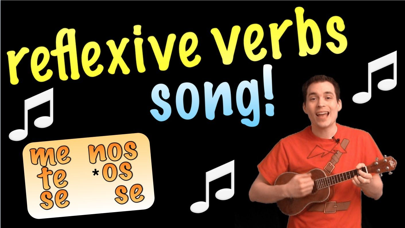 Reflexive Verbs Made Easy With A Song Spanish Lesson