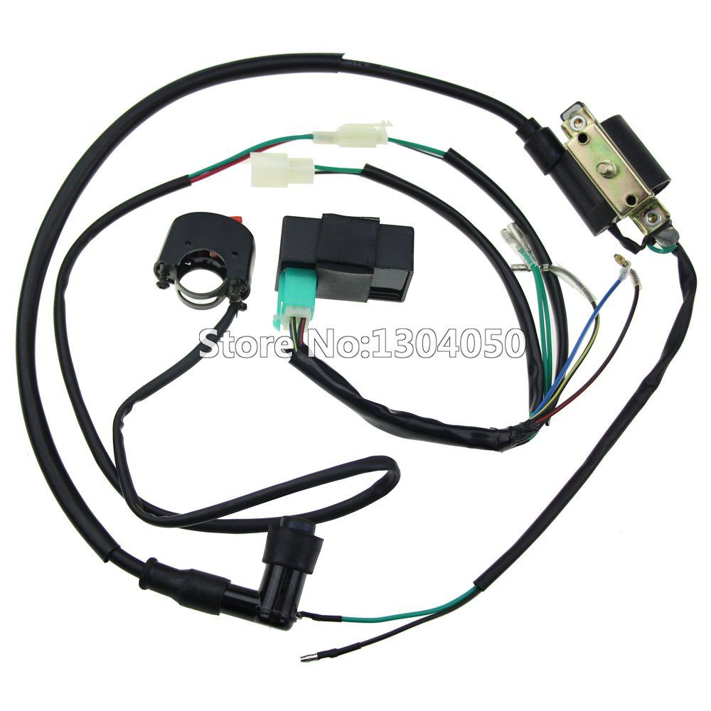 Plete kick start engine wiring harness loom cdi box ignition 83ac878ce556aabc3ee2605d18d81e6a 681099143617981167