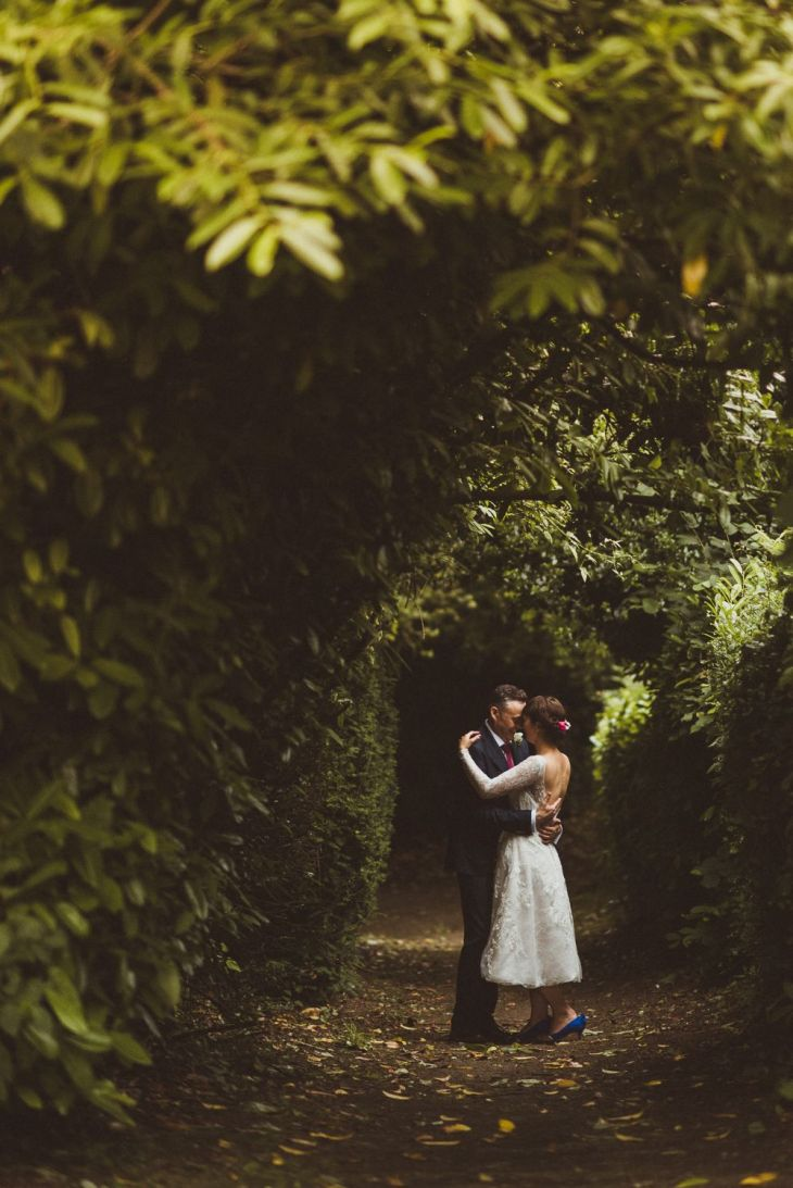 Village Hall Wedding With A Picnic Style Meal Bride Wears s Style
