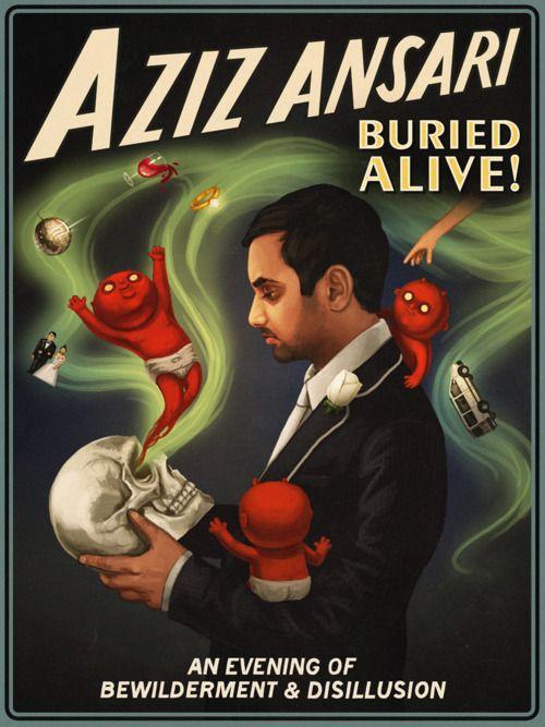 Poster do filme Aziz Ansari: Buried Alive