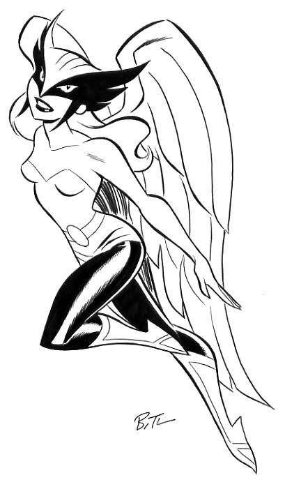 Hawkgirl Is So Beautiful She S