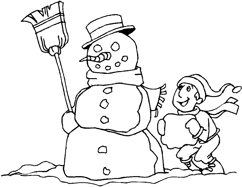 Coloring Pages For Kids Christmas Coloring Pages For Kids