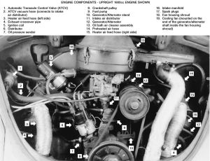 1972 Vw Beetle Engine Diagram Starter Vw Download Free