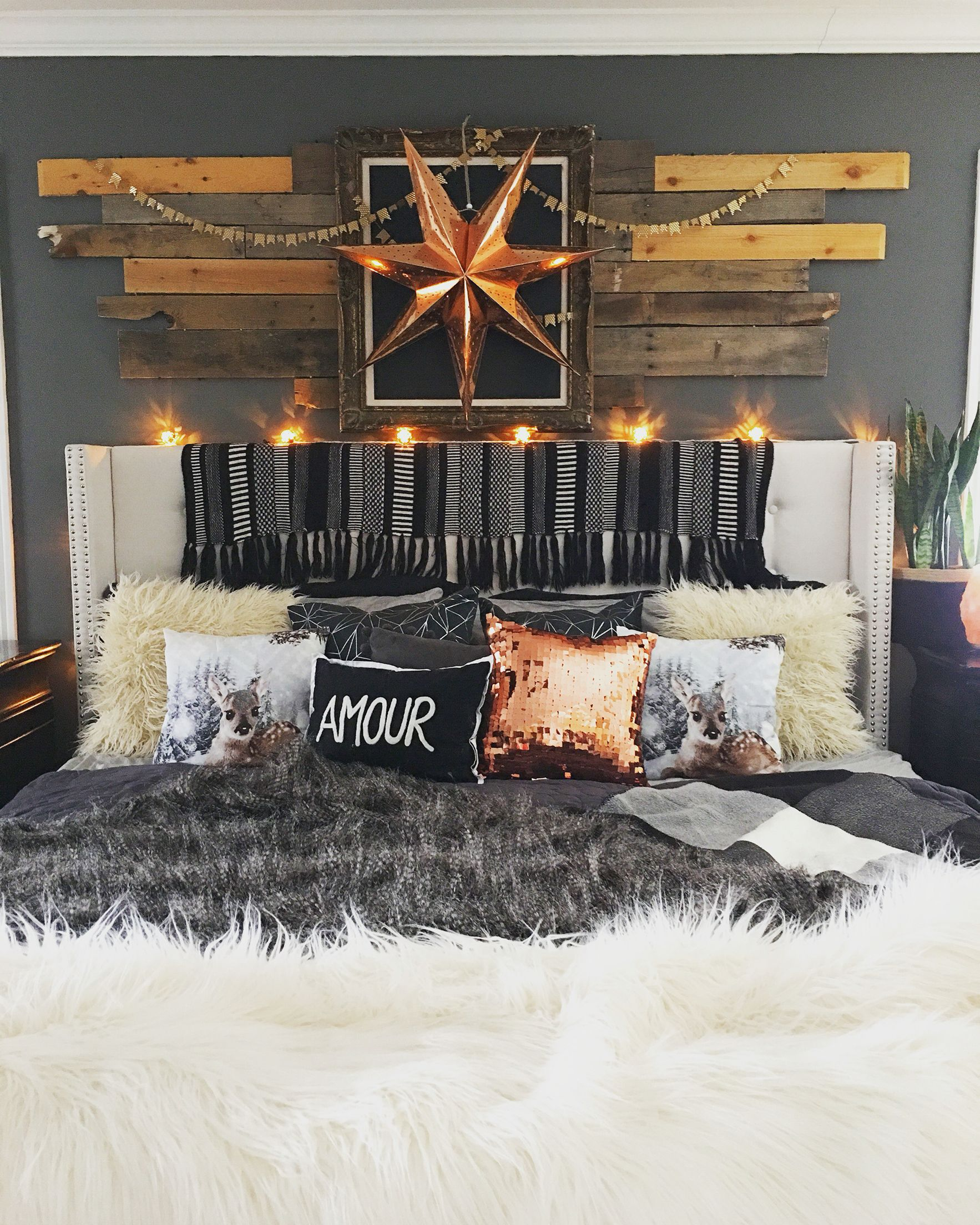 Rustic Boho Glam Master Bedroom By Blissfully Eclectic