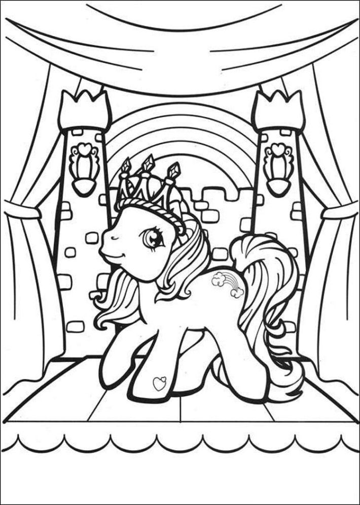 Color Pages My Little Pony