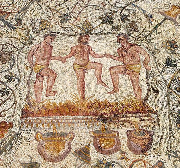 Image result for saturnalia mosaic