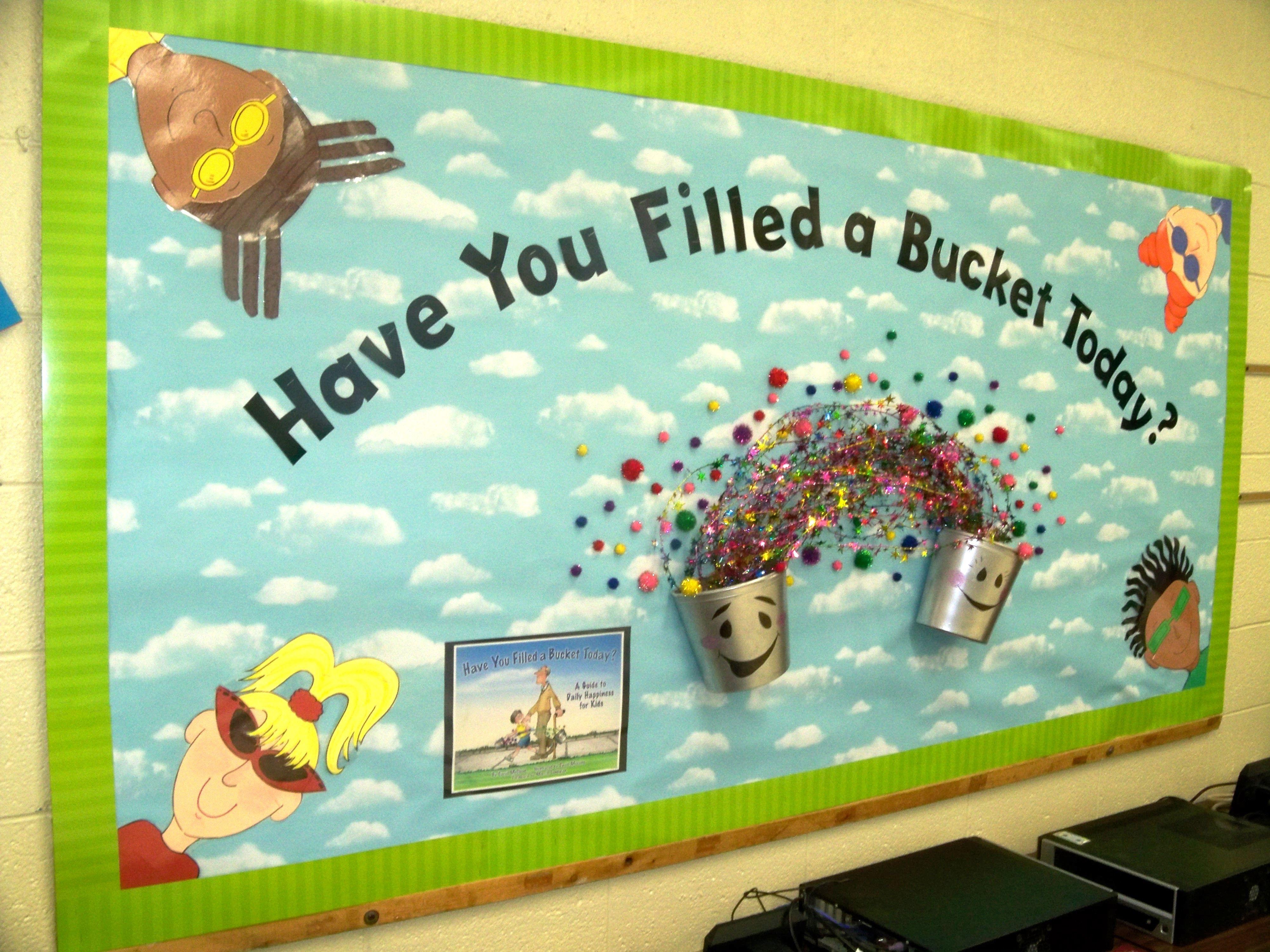 Bucket Filling Bulletin Board