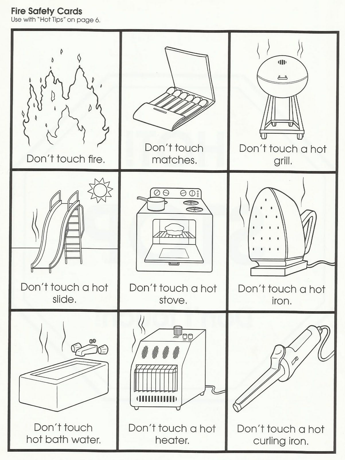 Squish Preschool Ideas Fire Safety