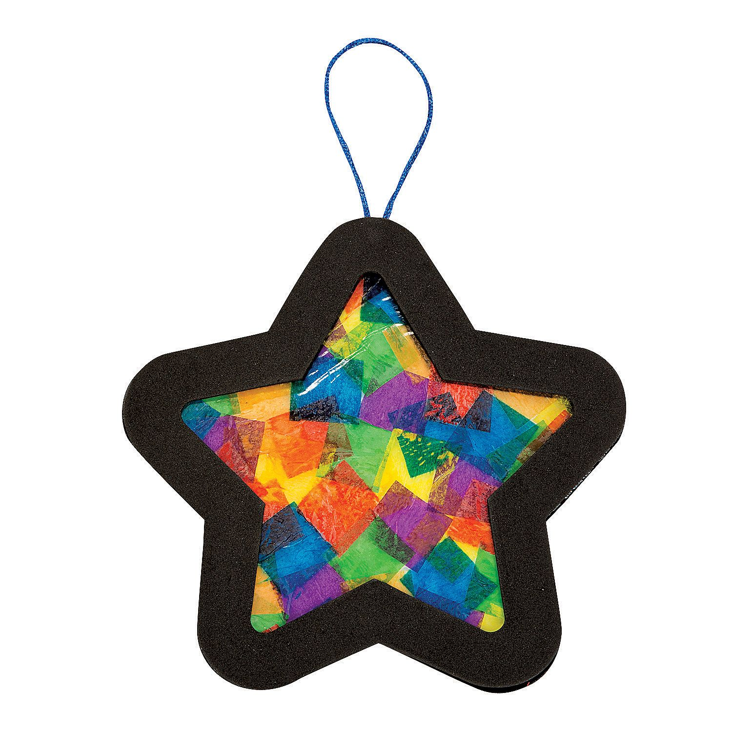 Hang Up This Colorful Star To Bring A New Light To Your