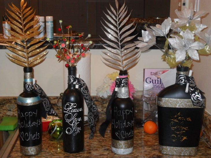 Wine bottle crafts Bottle projects Pinterest Wine bottle