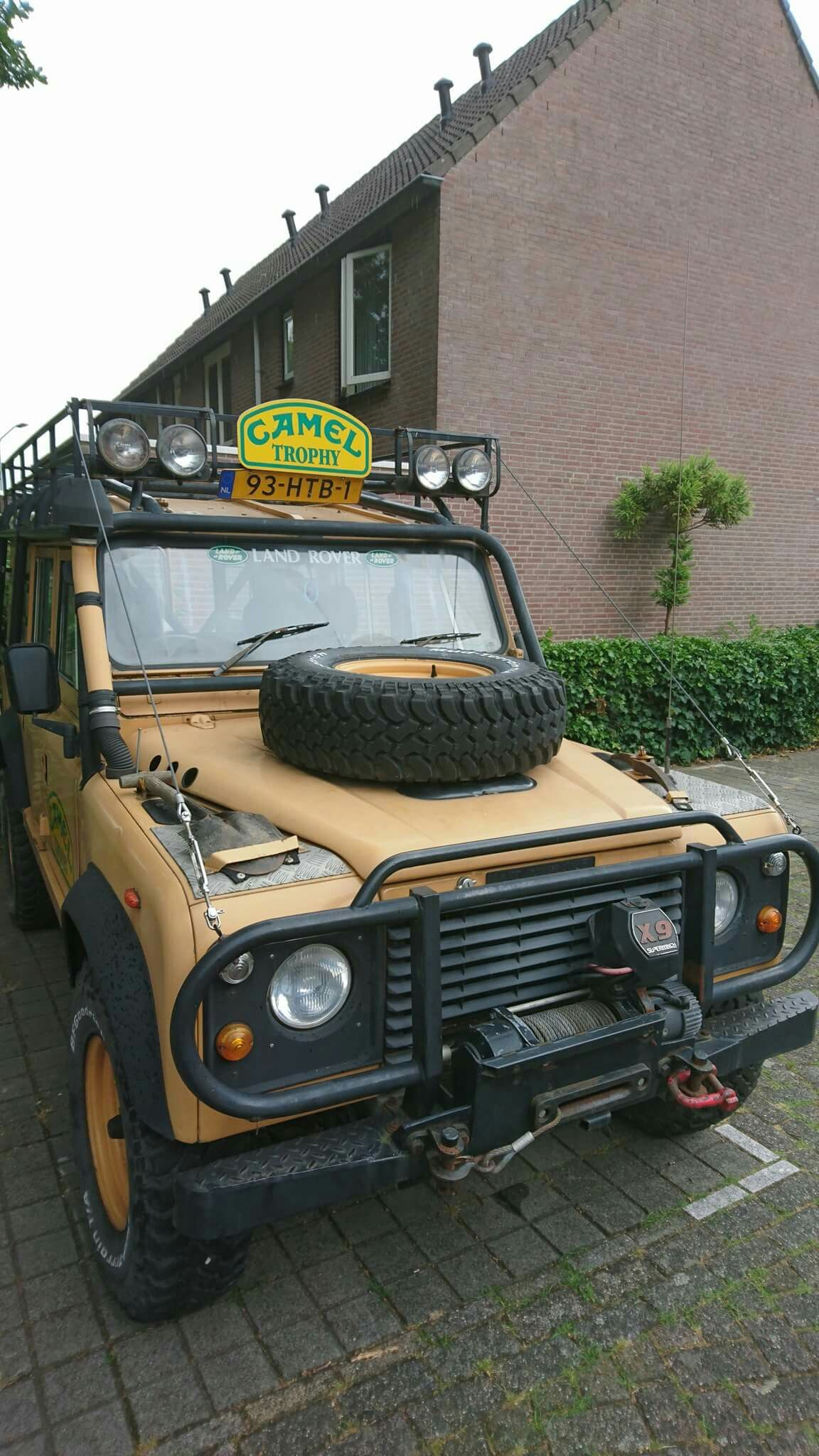 Land Rover Defender 110 Tdi Sw Camel Trophy adventure team e of