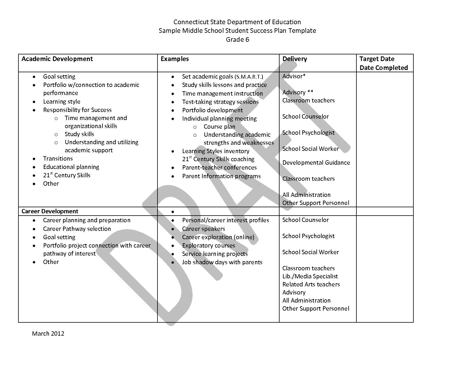 Academic Appeal Sample Letter