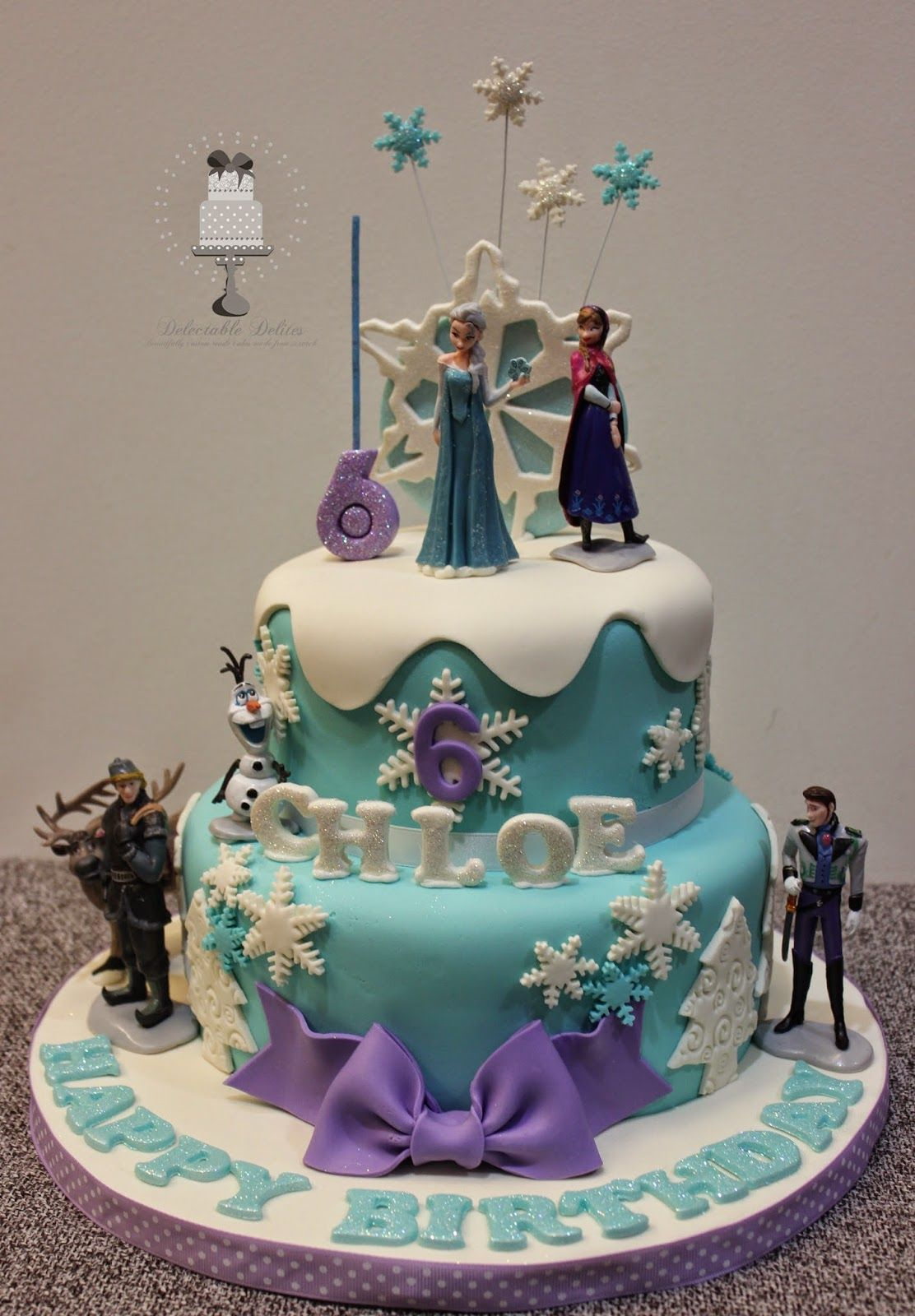 Frozen Birthday Cake Images