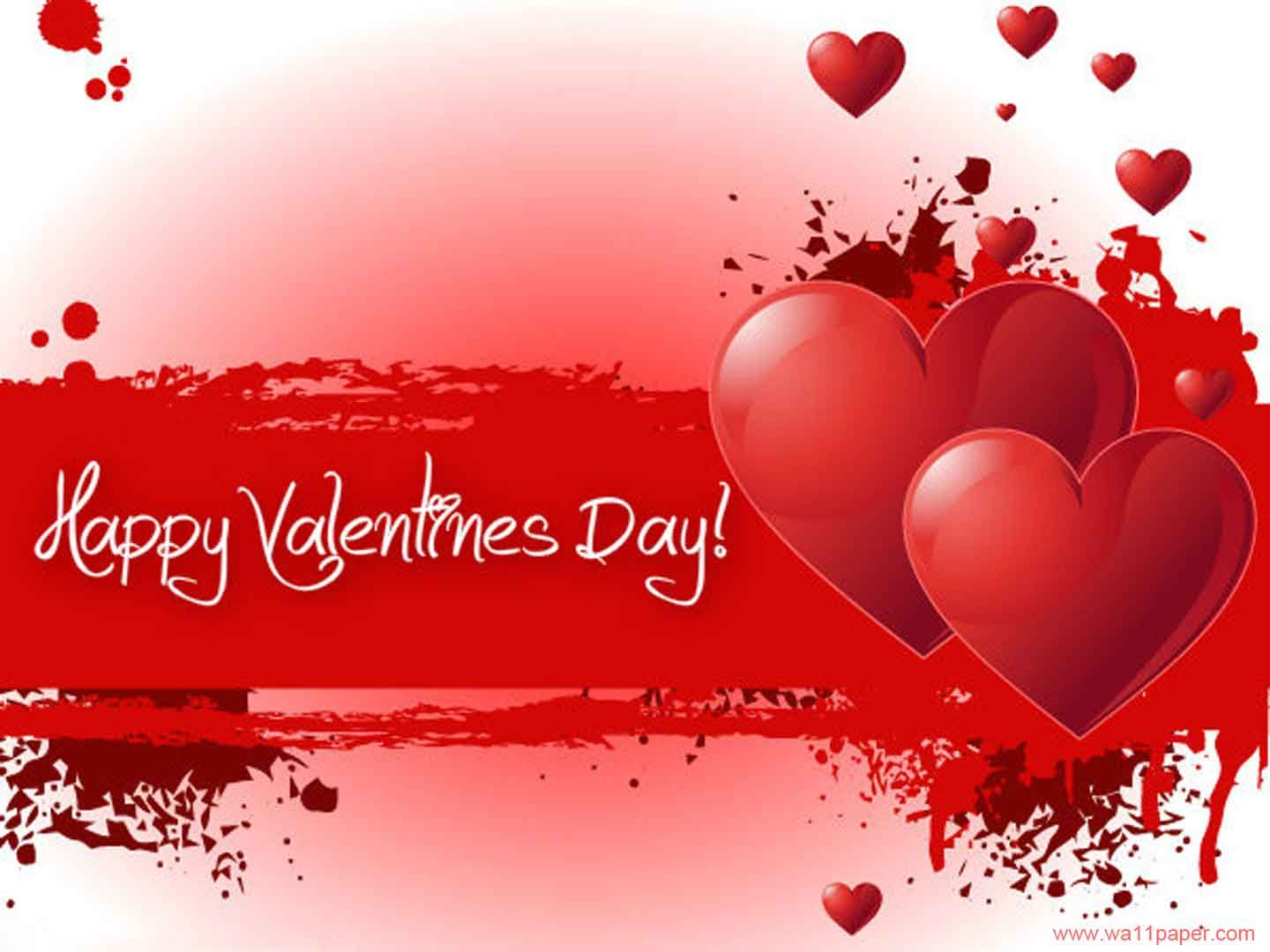 red valentines day greetings cards for facebook hd wallpaper