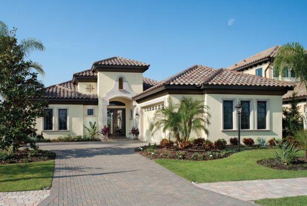 Florida Luxury Custom Home Design Plan Bardmoor 1172