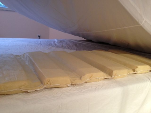 Easy To Install Between The Mattress And Box Spring