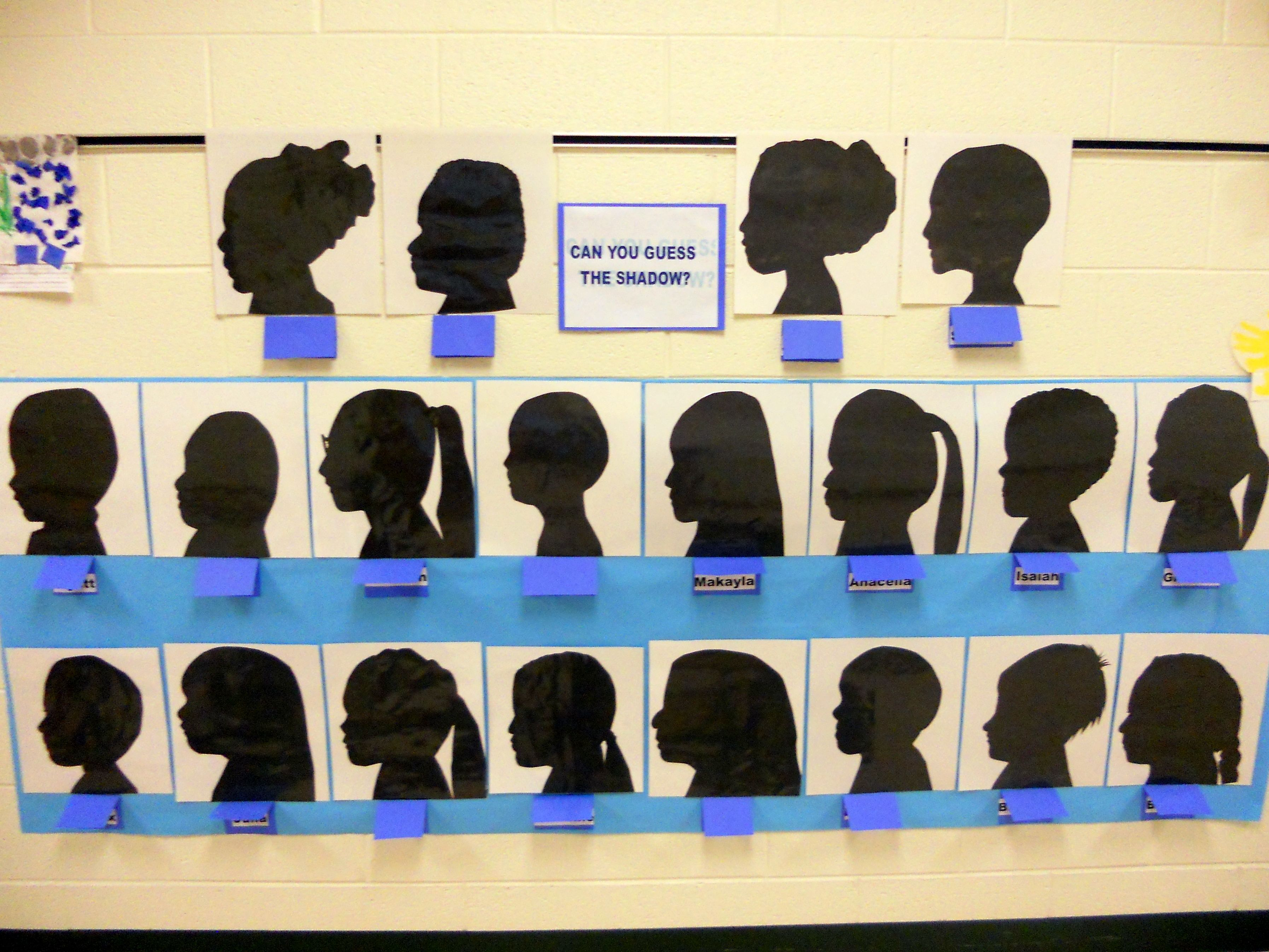 Shadow Activity Turned Bulletin Board I Did With My