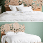 Master bedroom ideas grey  With nods to traditional flora found in Myanmar this handcarved bed