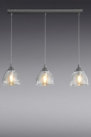 Bergen 3 Light Linear Pendant From The Next Uk Online