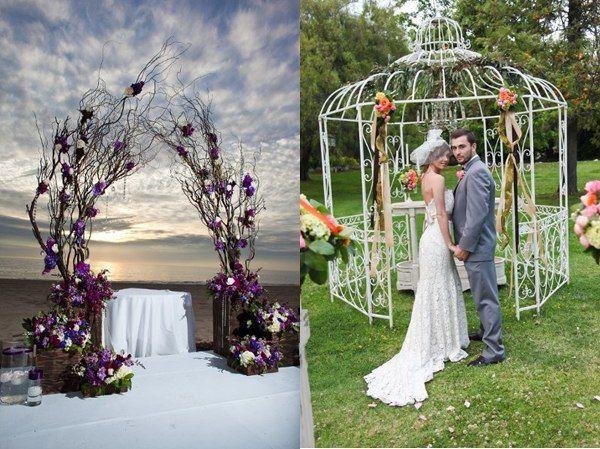 Interesting Ideas For Wedding Arch