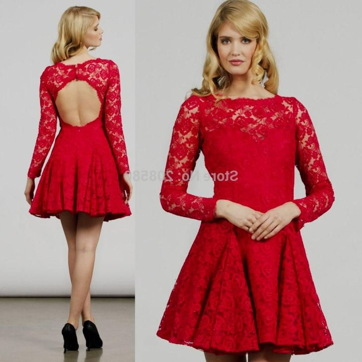 Popular Long Red Homecoming DressesBuy Cheap Long Red Homecoming