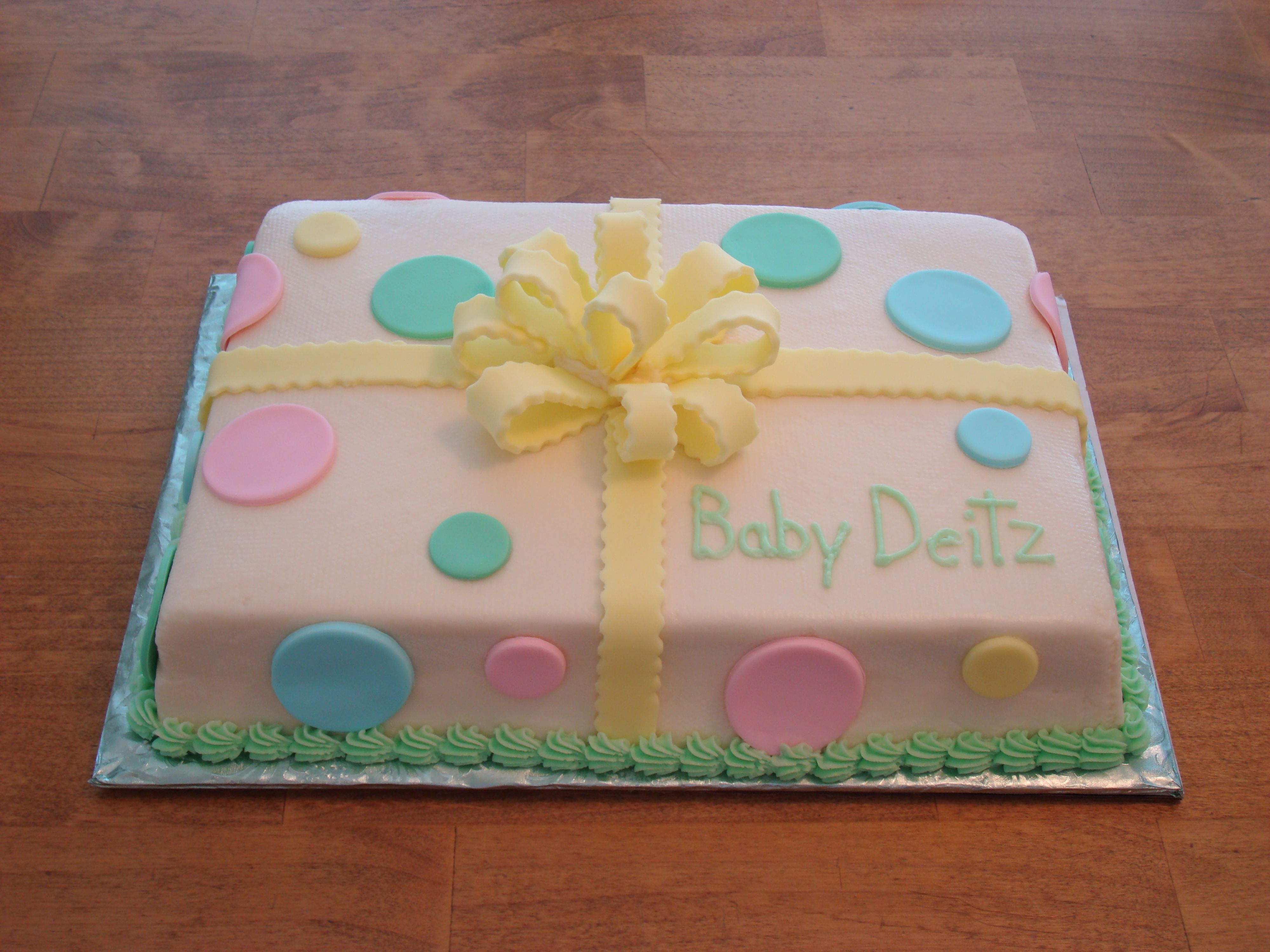 Cute Cake For Boy Or Girl