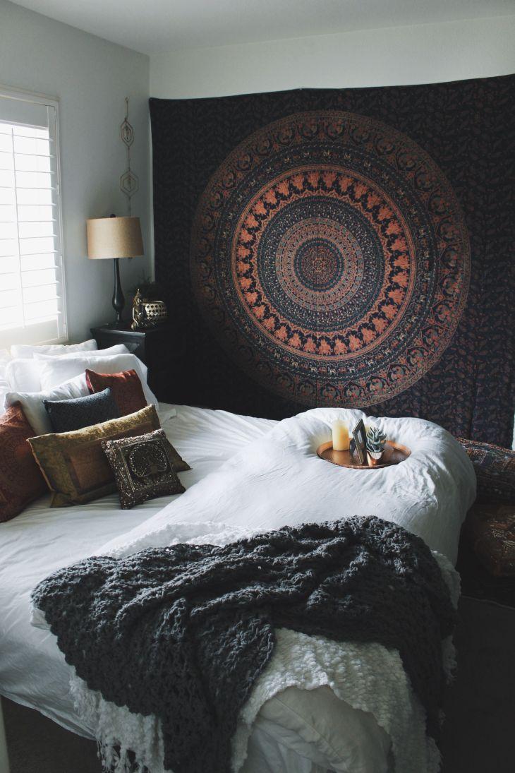 Love this setup More Home decor Pinterest Mandala tapestry