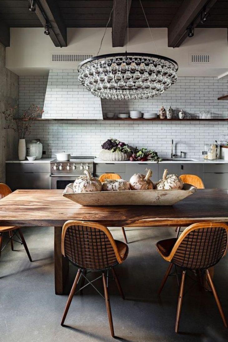 Breathtaking Stunning Rustic Kitchen Centerpiece Design Ideas