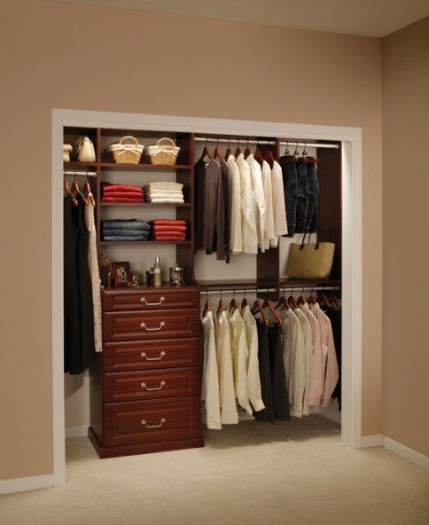 Fabulous Closet Ideas For Small Bedrooms Wooden Style Brown Modern Design With Hidden And