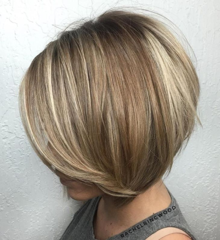 MindBlowing Short Hairstyles for Fine Hair  Brown blonde
