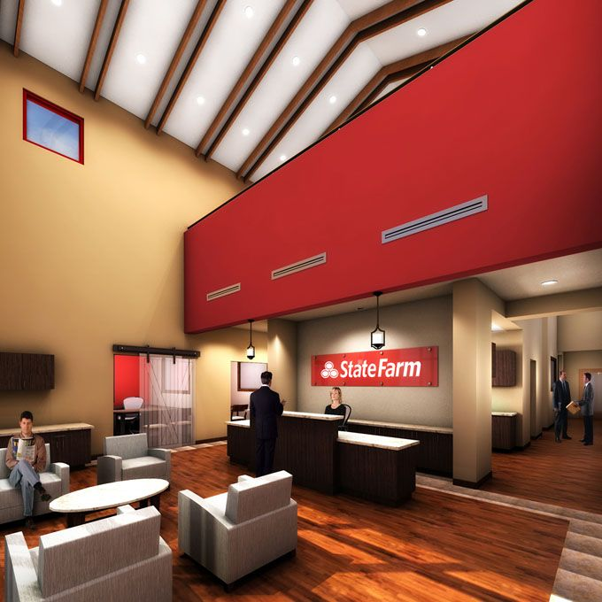 matt schomburg state farm office building prevot design on paint colors for professional office id=87948