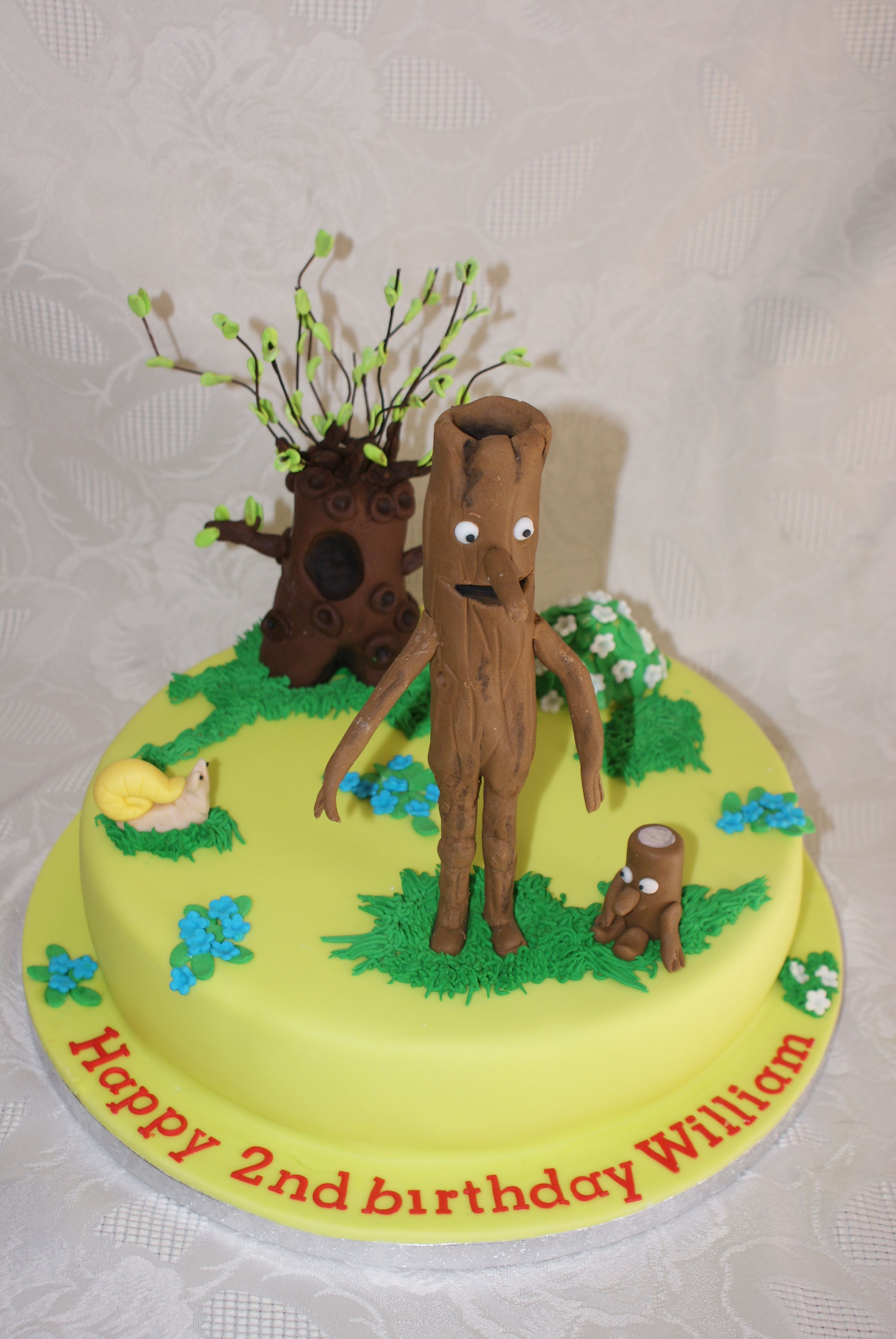 Stickman And The Family Tree Cake