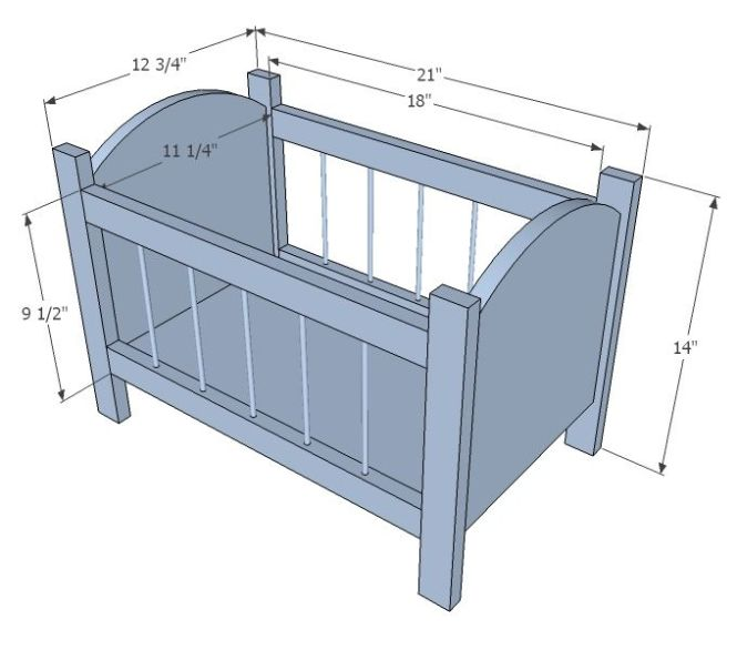 Building A Baby Cradle Ana White Build Fancy Doll Crib Free And Easy Diy Project Pinterest