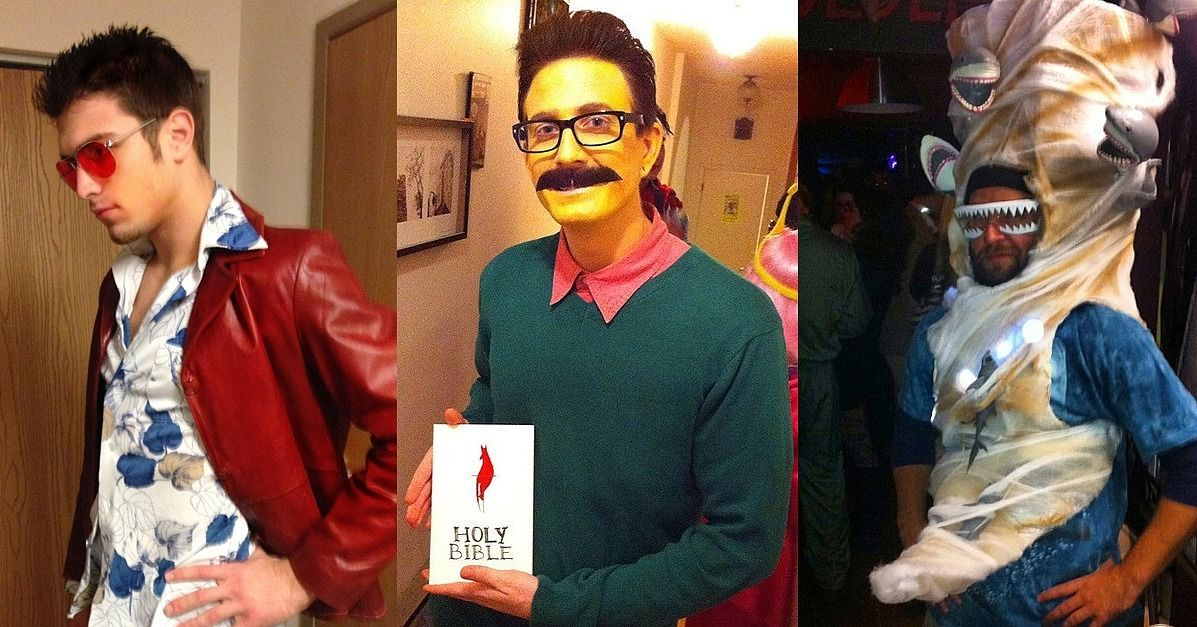 66 Wildly Creative DIY Costumes For Men