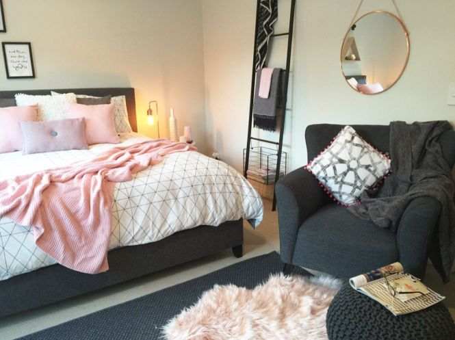 A Serious Kmart Lover This Master Bedroom Is Little Oasis