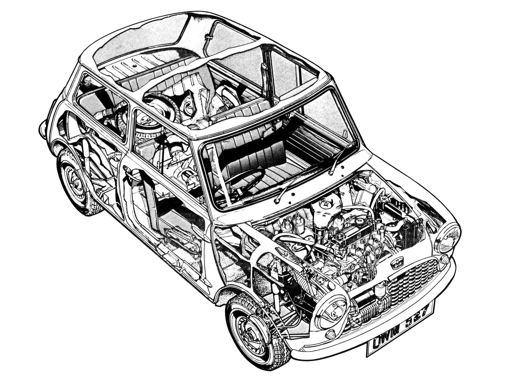 Austin Mini Ado15