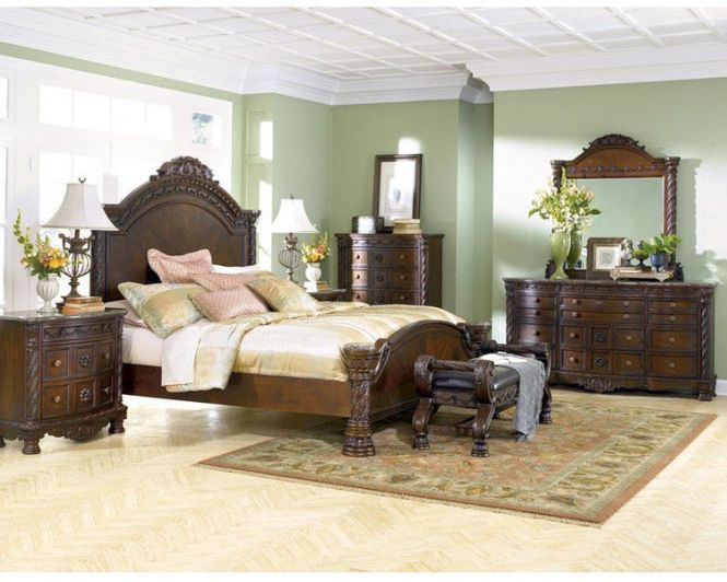 Ashley Furniture Bedroom Sets S North 6 Piece Set