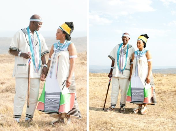 Xhosa Traditional Outfits For Weddings