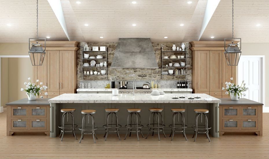 64 deluxe custom kitchen island designs stove kitchens with islands and wood cabinets on kitchen island ideas kids id=35180