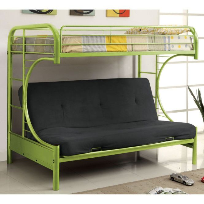 Ravens Contemporary Twin Over Futon Bunk Bed Beds Loft At Hayneedle