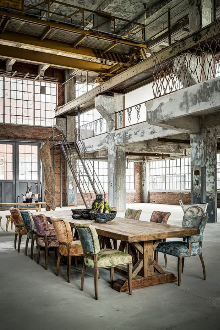 Table A Manger Style Industriel Pas Cher Awesome Meuble