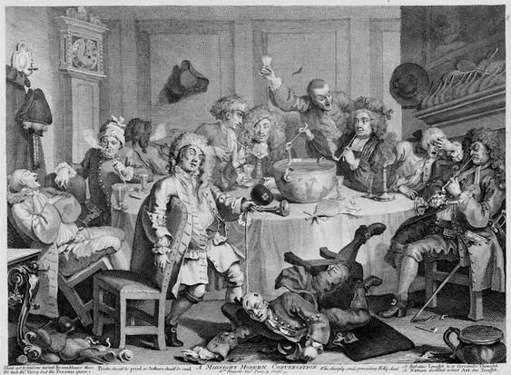 Image result for 18th century drinking