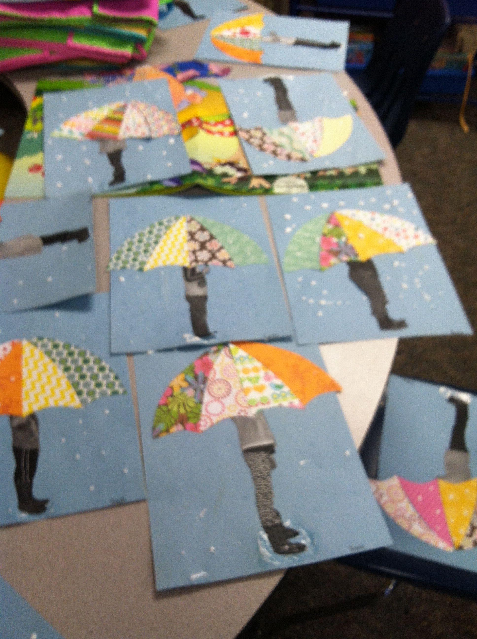 Aprilwetter Amp Regenschirm Kunst Diy