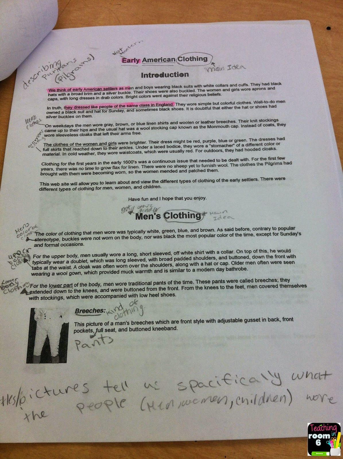 Finding The Main Idea In Expository Text By Asking Three