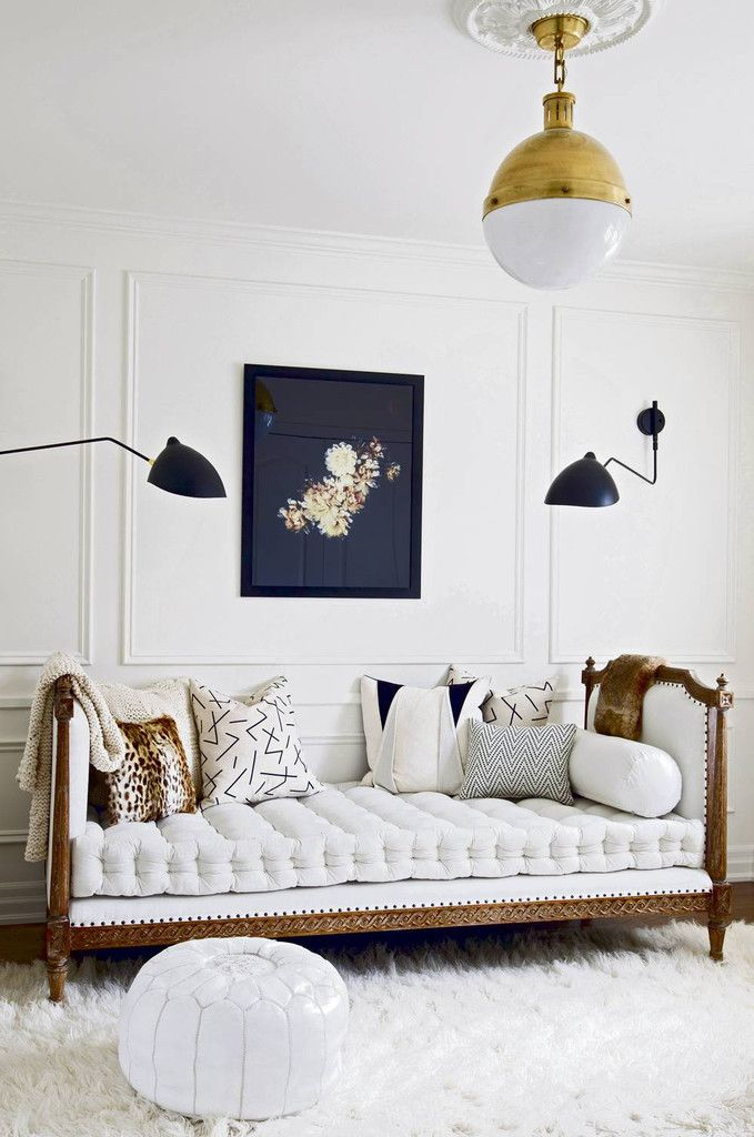 Update your walls with stylish picture frame molding