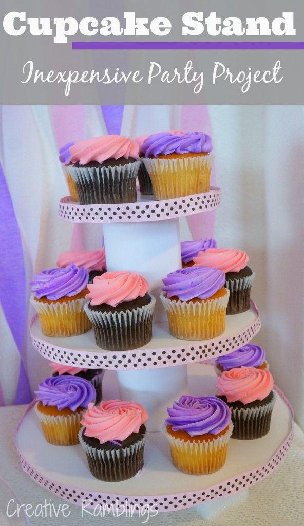 cupcake stand inexpensive party essential cuisinerrecettespetit gateau