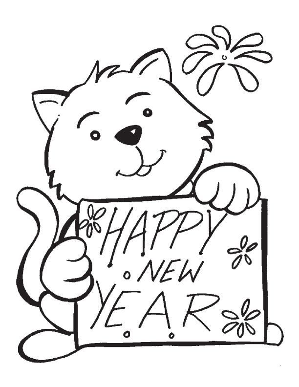 tweety new year drawings