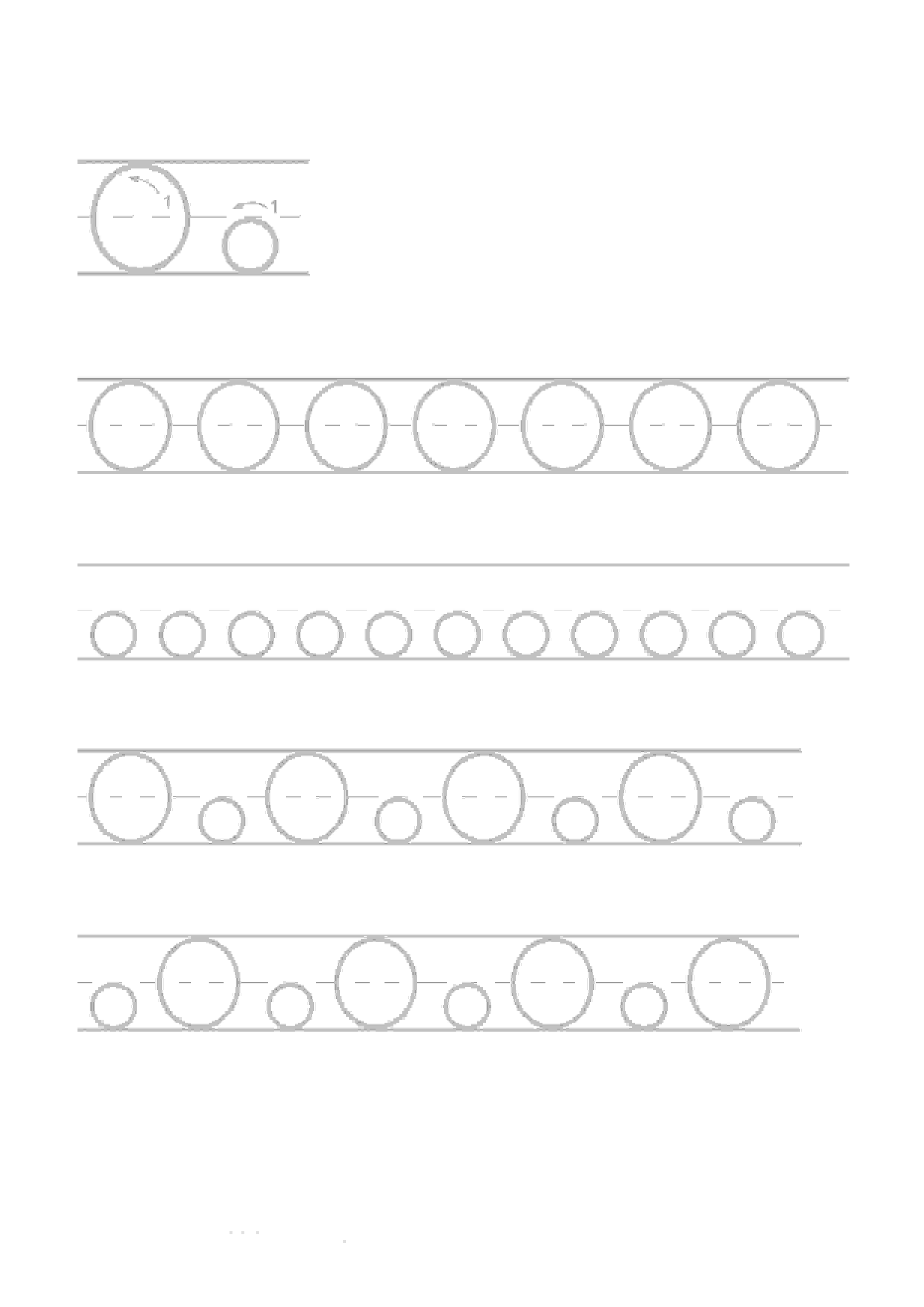 Printable Worksheets For Kids Alphabet Handwriting 15