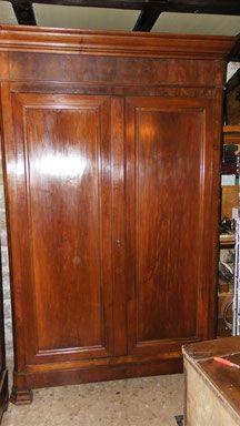ancienne armoire louis philippe xixe
